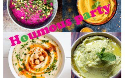 Houmous party/atelier culinaire – Samedi 2 février 2019